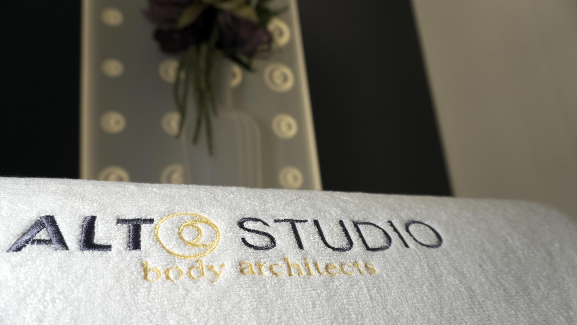 logo ALTO Studio brodat
