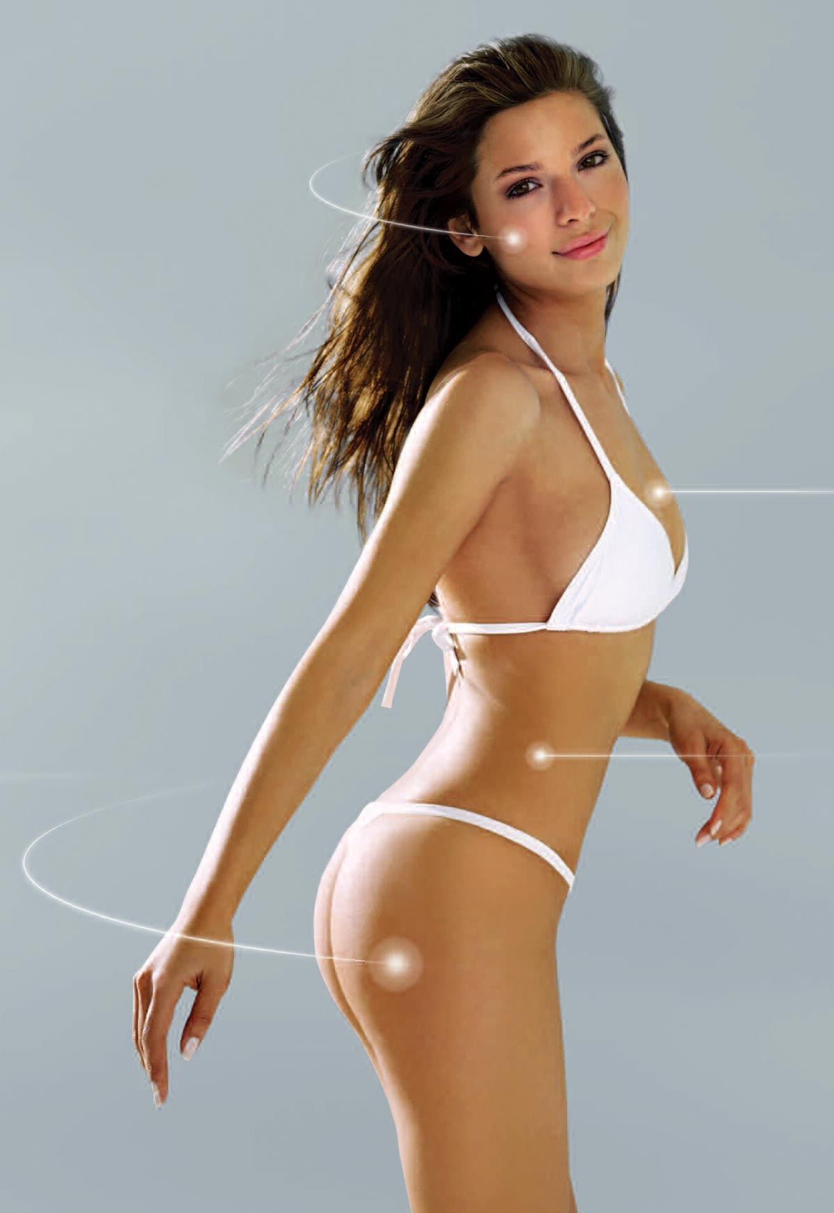 silueta femeie tonifiata biostimulare Ultratone Excel Pro